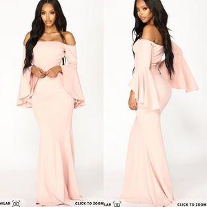 Fashion Nova Fascination Off The Shoulder Dress